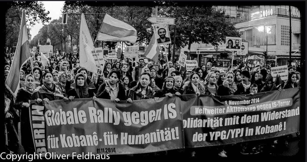 Globale Rally gegen ISIS - für Kobanê 1nov14 oliver feldhaus