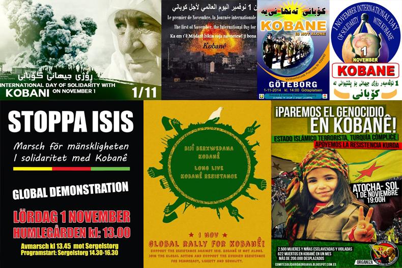 Internationaler Aktionstag für die Solidarität mit Kobanê