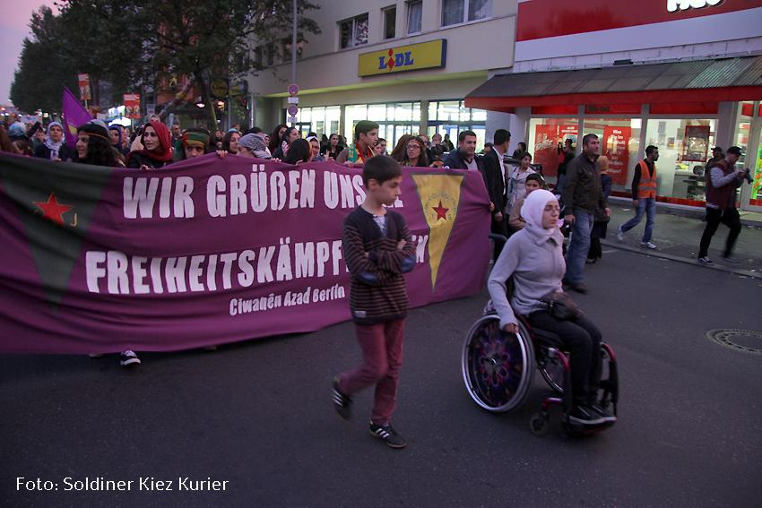 Jugend Kurden demo kobane wedding  (28)