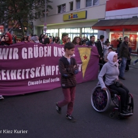 Demo für Kobane in Wedding