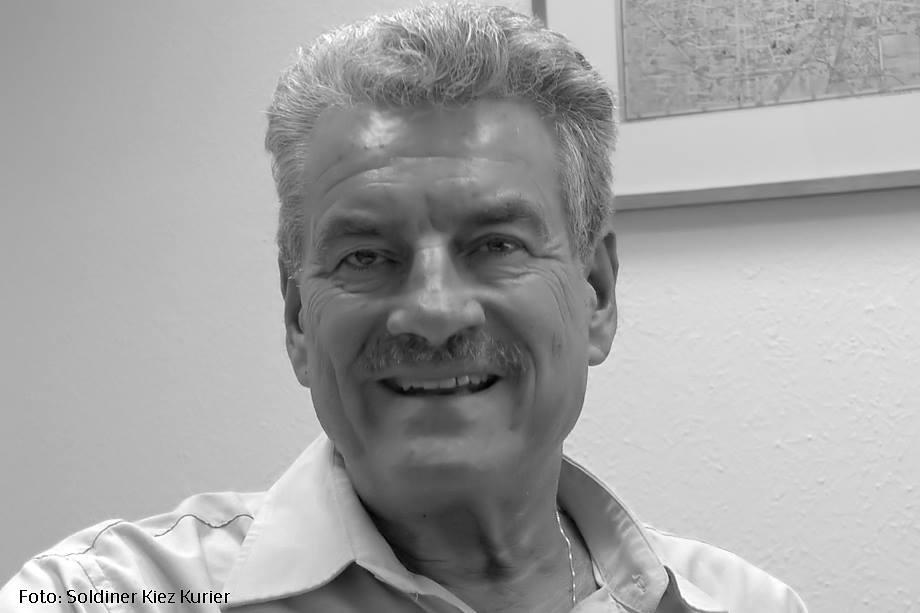 Manfred Nowak, der Vorsitzende der Awo Kreisverband Berlin Mitte