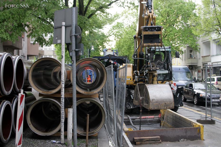 neue Abwasserrohre in der Soldiner Straße (4)