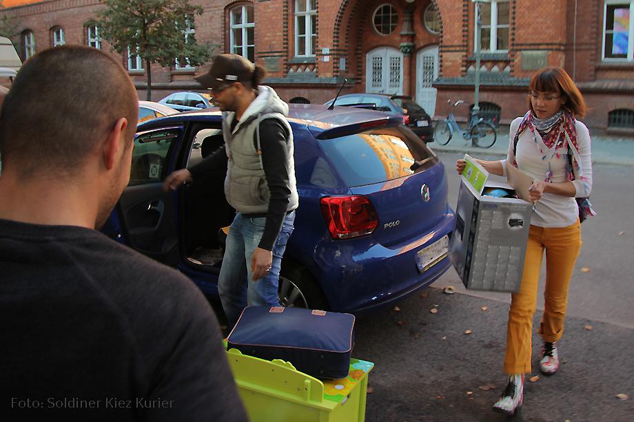 Sachspende für Kinder Flüchtlingsnotunterkunft Gotenburger Straße (1)