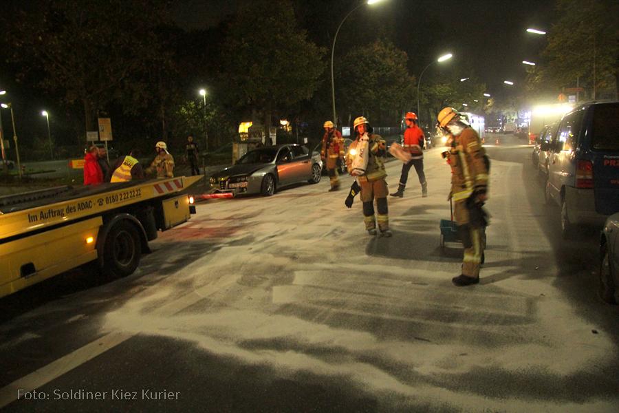 Ölspur in der Wollankstraße (3)