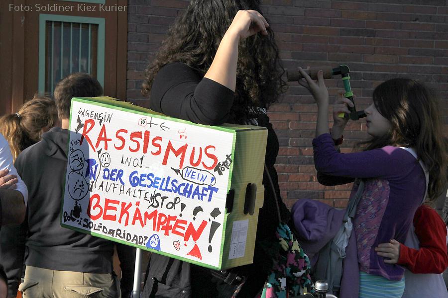 Demo gegen Rassismus NSU gedenken gesundbrunnen nov 14  (4)