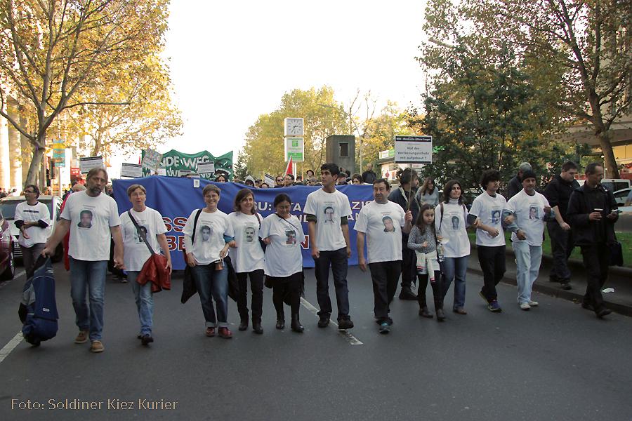 Demo gegen Rassismus NSU gedenken gesundbrunnen nov 14