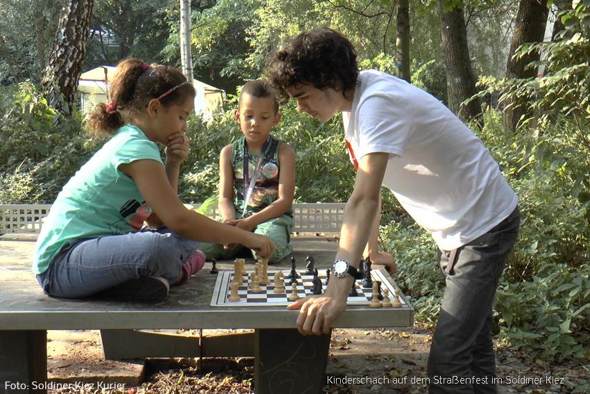 Kinderschach im Soldiner Kiez