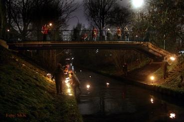 Lichterfest an der Panke 2014 nahe bei junke und brunken fordoner platz