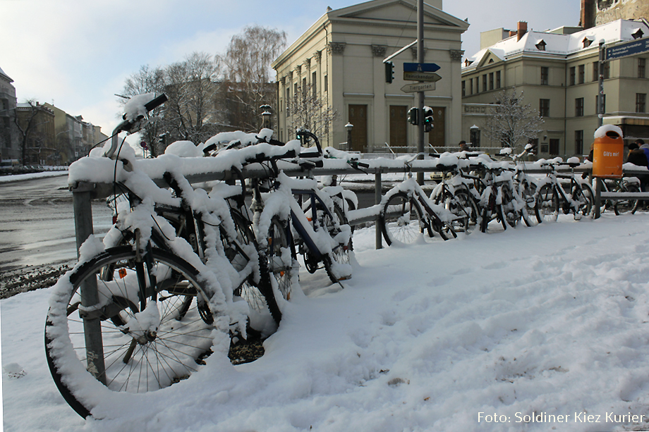 Schneefahrräder im Soldiner Kiez wedding (6)