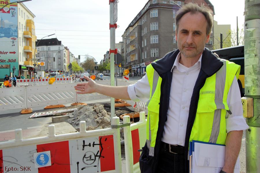 Baustelle Prinzenallee ecke Osloer straße zieht um (4)