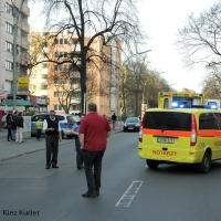 Unfall Wollankstraße - Frau wird schwer verletzt