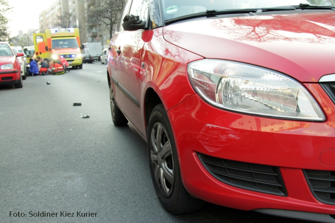 Unfall Wollankstrasse Frau verletzt (3)
