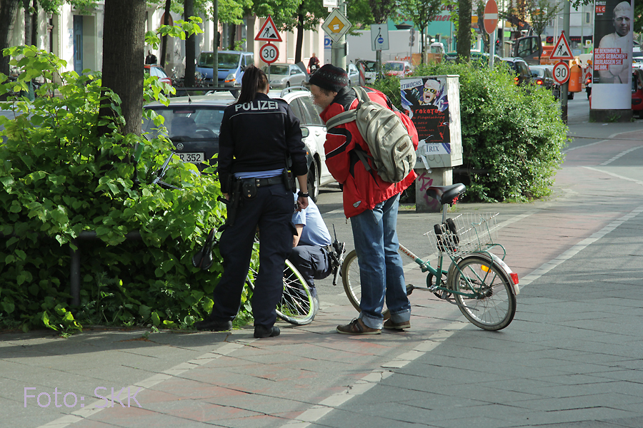 Fahrradleiche Prinzenallee (1)