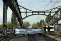 Kiezdemo gegen Verkehrslärm Berlin Böse Brücke Jülicher Malmöer strasse (2)