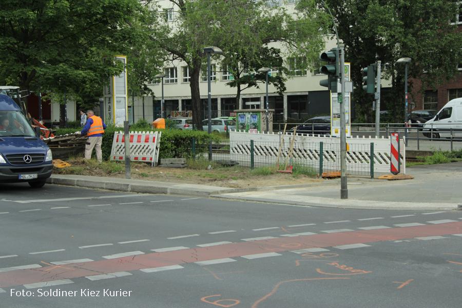 Kreuzung Osloer Strasse Prinzenallee