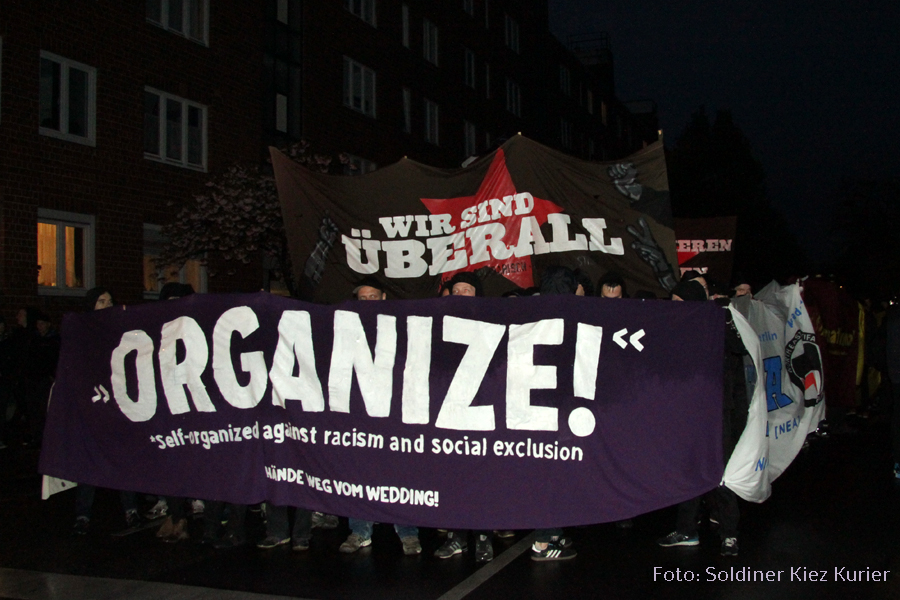 Organize - Walpurgisnacht Berlin Wedding 2015 (3)
