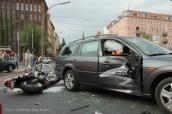 schwerverletzte motorradunfall osloer strasse prinzenallee Berlin (14)