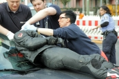 schwerverletzte motorradunfall osloer strasse prinzenallee Berlin (4)