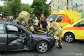schwerverletzte motorradunfall osloer strasse prinzenallee Berlin (9)