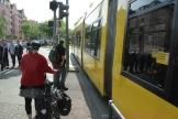 Tramunfall mit Taxi Prinzenallee Ecke Osloer Straße (5)