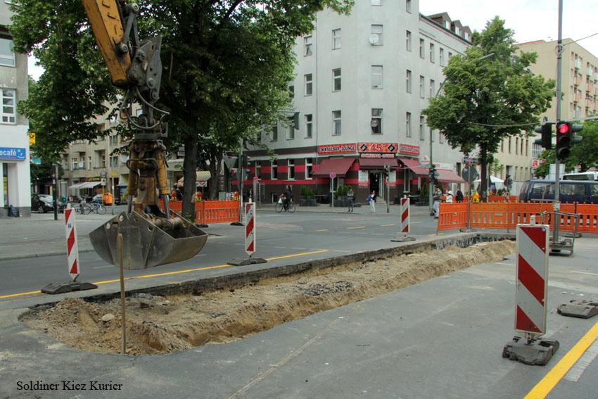 Baustelle Pankstrasse Ecke Prinzenallee (1)