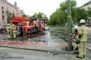Tramunfall kleintransporter osloer ecke Prinzenallee (17)