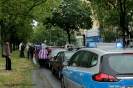 Tramunfall kleintransporter osloer ecke Prinzenallee (19)