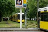 Tramunfall kleintransporter osloer ecke Prinzenallee (5)