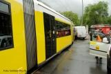 Tramunfall kleintransporter osloer ecke Prinzenallee (8)