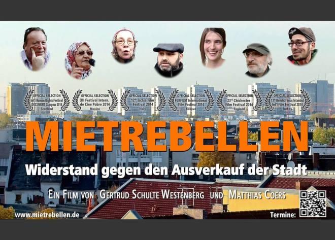 Film Mietrebellen im made in wedding von Gertrud Schulte Westenberg und Matthias Coers
