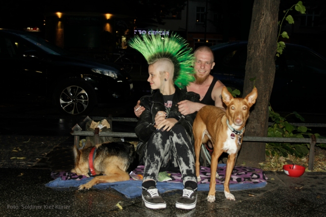 Punk in Mitte mit Pharao Podenco (2)