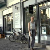 """Finnische Kunst im """"Toolbox"""" im Soldiner Kiez Berlin - Tanja Becher interpretiert"""
