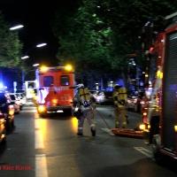 Kellerbrand in der Wollankstraße Gesundbrunnen - Alle gerettet