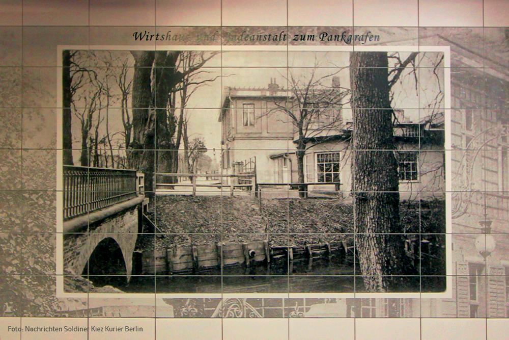 Wandbild vom Pankgrafen U Bahnhof Pankstrasse (10)