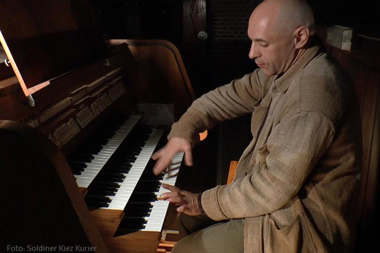 Sasha Pushkin Interview Probe Orgelkonzert  Stephanuskirche Titel