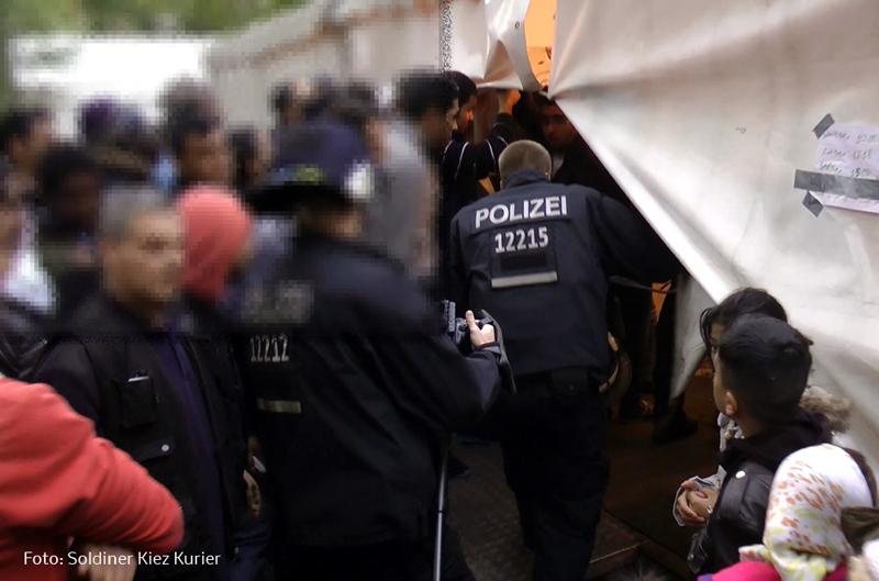 Streit um Essen LaGeSo Berlin Moabit hilft vor Ort