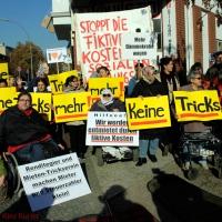 Mieterprotest in der Koloniestraße