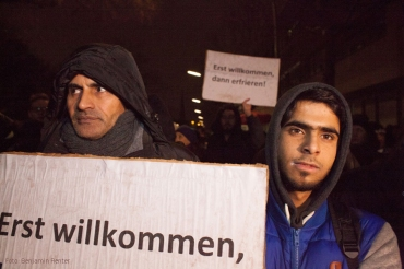 Protest Lageso Moabit Berlin Foto Benjamin Renter  (6)
