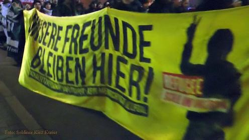 Bundeswehr raus aus syrien demo durch soldiner kiez (3)