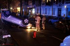 Überschlag Unfall in der Prinzenallee (8)