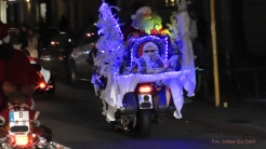 Christmas Bike Tour 2015 Santa claus on road (14)