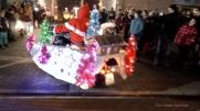 Christmas Bike Tour 2015 Santa claus on road (15)