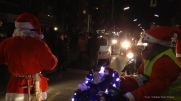 Christmas Bike Tour 2015 Santa claus on road (16)