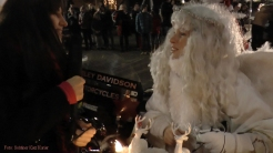 Christmas Bike Tour 2015 Santa claus on road (2)