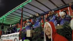 Christmas Bike Tour 2015 Santa claus on road (3)