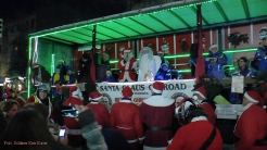 Christmas Bike Tour 2015 Santa claus on road (5)