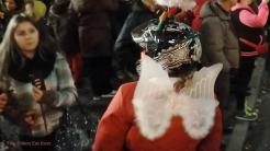 Christmas Bike Tour 2015 Santa claus on road (7)