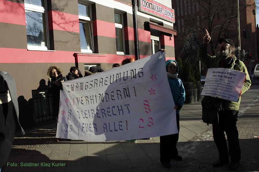 Basta besetzt FereinWohnung Soldiner Strasse 26 (1)
