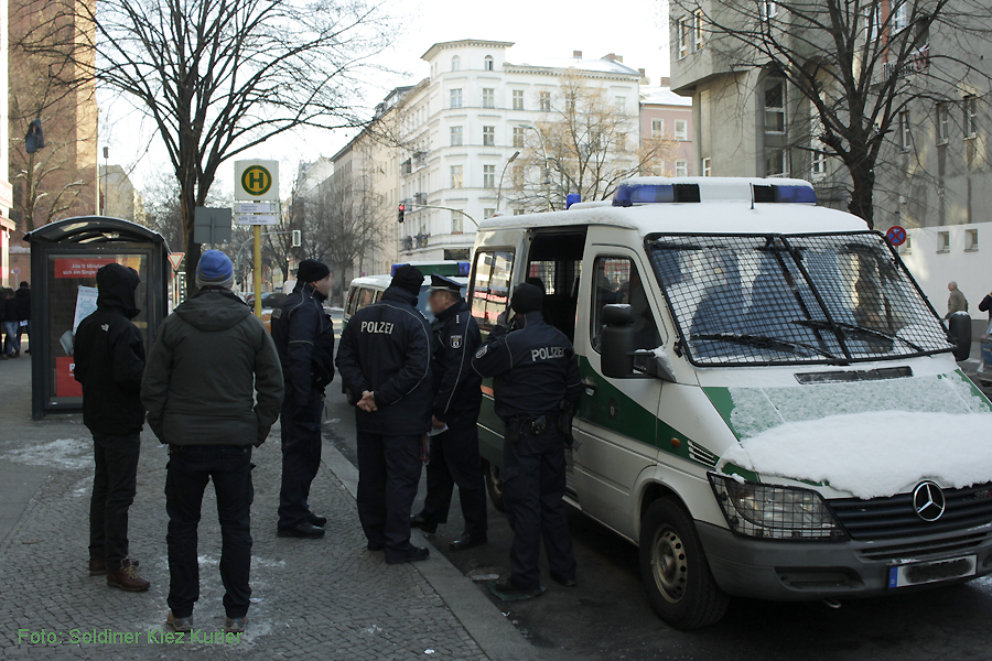 Basta besetzt FereinWohnung Soldiner Strasse 26 (2)