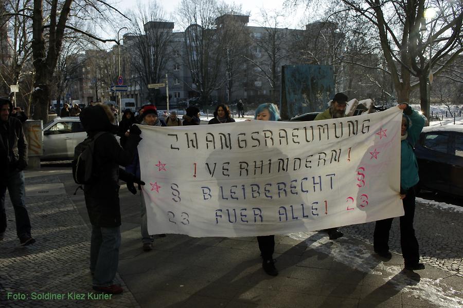 Basta besetzt FereinWohnung Soldiner Strasse 26 (3)